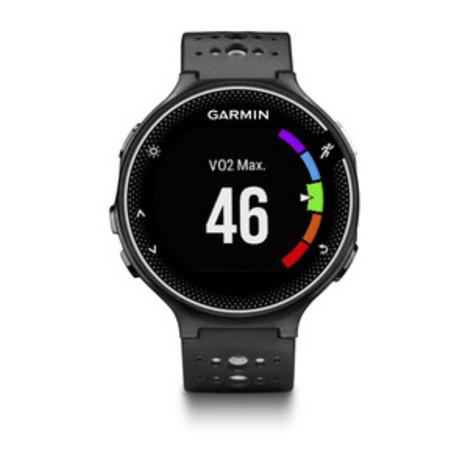 10%OFF ガーミン Garmin GPS搭載ランニングウォッチ フォアアスリート230J カラーディスプレイ 16時間稼働 ブラック ホワイト 腕時計 日本版正規品 010-03717-87