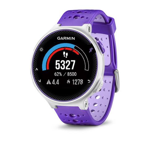 10%OFF ガーミン Garmin GPS搭載ランニングウォッチ フォアアスリート230J カラーディスプレイ 16時間稼働 パープル ストライク 腕時計 日本版正規品 010-03717-88
