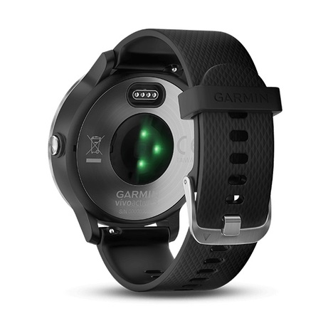 10%OFF ガーミン GARMIN GPS搭載マルチスポーツスマートウォッチ vivoactive3 心拍計測 11時間稼働 ブラックステンレス 腕時計 日本版正規品 010-01769-70