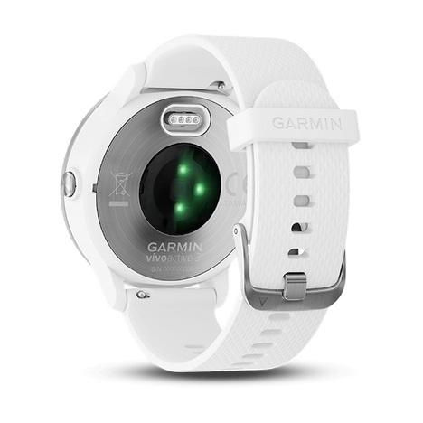 10%OFF ガーミン GARMIN GPS搭載マルチスポーツスマートウォッチ vivoactive3 心拍計測 11時間稼働 ホワイトステンレス 腕時計 日本版正規品 010-01769-72