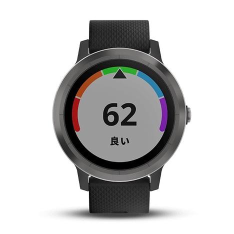 10%OFF ガーミン GARMIN GPS搭載マルチスポーツスマートウォッチ vivoactive3 心拍計測 11時間稼働 ブラックスレート 腕時計 日本版正規品 010-01769-71