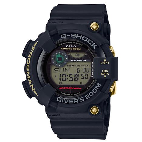 20%OFF G-SHOCK G-ショック 35周年記念限定 ブラック×ゴールド フロッグマン スクリューバック CASIO カシオ メンズウォッチ 国内正規品 GF-8235D-1BJR