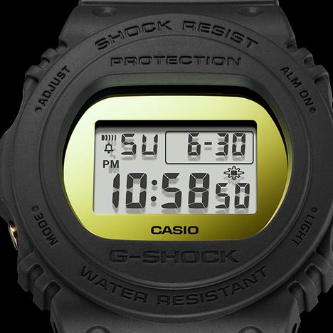 在庫限り 20%OFF G-SHOCK G-ショック メタリックミラーフェイスシリーズ DW5700系 デジタル CASIO カシオ メンズウォッチ 国内正規品 DW-5700BBMB-1JF