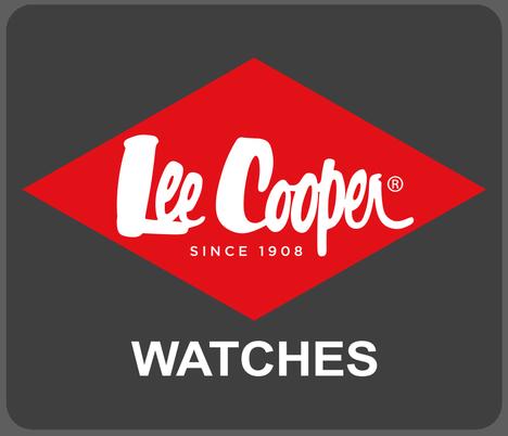 20%OFF リークーパー LeeCooper ロンドン発 デニムブランド ブラウン文字盤 ステンレスメタルベルト デュアルタイム 曜日日付 腕時計 メンズウォッチ 正規品 LC6295.540