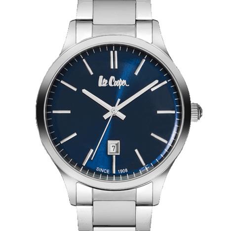 20%OFF リークーパー LeeCooper ロンドン発 デニムブランド ブルー文字盤 メタルベルト 腕時計 メンズウォッチ  正規品 LC6292.390