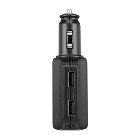ガーミン GARMIN USBハイスピードマルチチャージャー 車用 2ポートUSB同時充電 正規品 010-10723-17