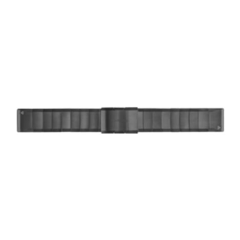 ガーミン GARMIN QuickFit(R) 26mm Gray Stainless Steel クイックフィット 26ミリ グレーステンレススチール 替えベルト 純正部品 010-12517-13