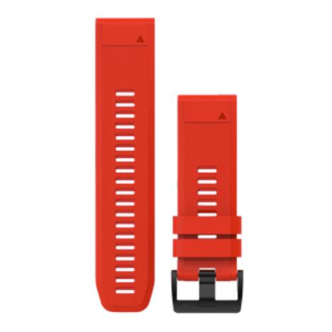 ガーミン GARMIN QuickFit(R) 26mm Red クイックフィット 26ミリ レッド 替えベルト 純正部品 010-12517-12