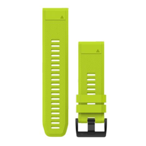 ガーミン GARMIN QuickFit(R) 26mm Yellow クイックフィット 26ミリ イエロー 替えベルト 純正部品 010-12517-09