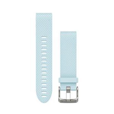ガーミン GARMIN QuickFit(R) 20mm Azure クイックフィット 20ミリ アジュール ライトブルー 替えベルト 純正部品 010-12491-27