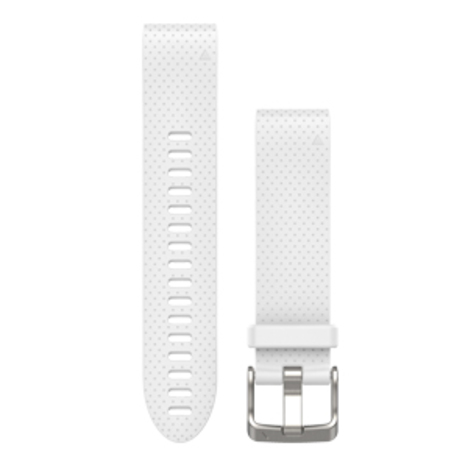 ガーミン GARMIN QuickFit(R) 20mm White クイックフィット 20ミリ ホワイト 替えベルト 純正部品 010-12491-20