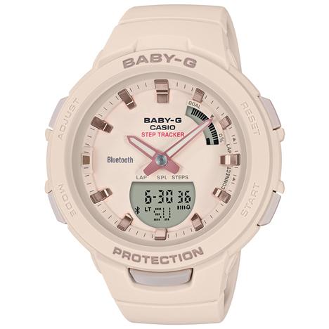 20%OFF ベビーG Baby-G G-SQUAD ジー・スクワッド ベージュ トレーニング用 CASIO カシオ 腕時計 ウォッチ 国内正規品 BSA-B100-4A1JF