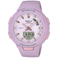 20%OFF ベビーG Baby-G G-SQUAD ジー・スクワッド ラベンダー トレーニング用 CASIO カシオ 腕時計 ウォッチ 国内正規品 BSA-B100-4A2JF