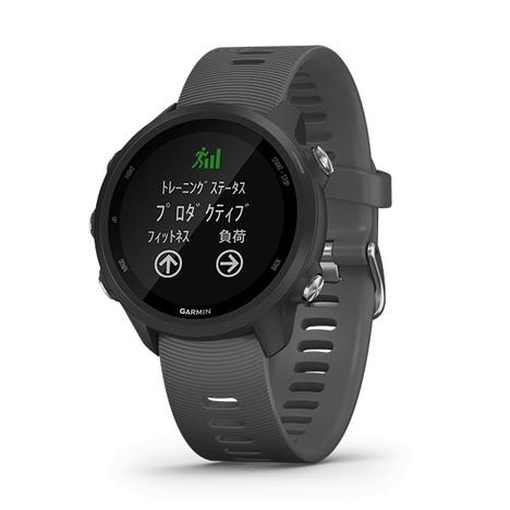 ガーミン GARMIN GPS搭載マルチスポーツスマートウォッチ ForeAthlete 245 Black Slate 心拍計 日本版正規品 010-02120-42