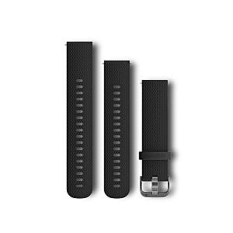 ガーミン GARMIN Quick Release 20mm Black Slate クイックリリース 20ミリ ブラックスレート 替えベルト 純正部品 010-12561-23