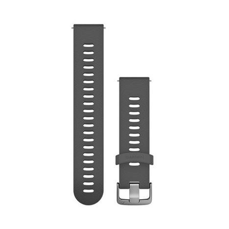 ガーミン GARMIN クイックリリース QuickRelease 替えバンド スポーツ スレート シリコン 20mm ベルト 純正部品 010-11251-1R