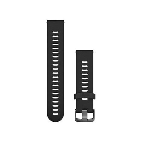 ガーミン GARMIN クイックリリース QuickRelease 替えバンド スポーツ ブラック スレート シリコン 20mm ベルト 純正部品 010-11251-1K