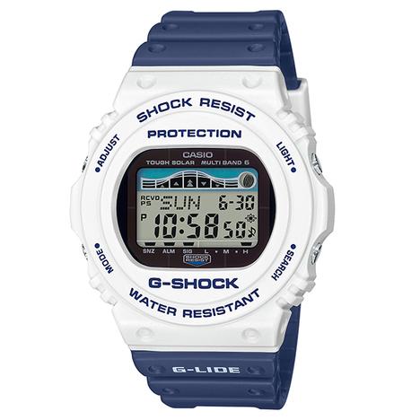 G-ショック G-SHOCK 腕時計 G-LIDE 2019 釣りやマリンスポーツに便利なタイドグラフ搭載 デジタル 電波ソーラー CASIO カシオ 国内正規品 GWX-5700SS-7JF