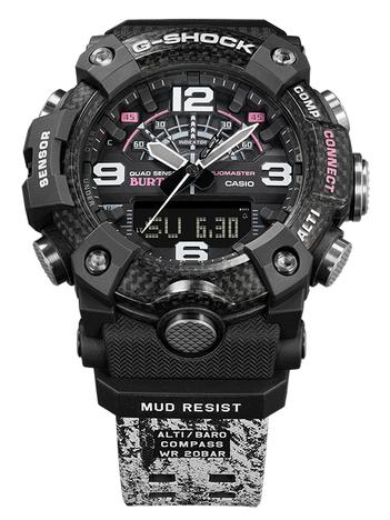 G-ショック G-SHOCK BURTONコラボモデル マッドマスター トリプルセンサー スマホリンク 腕時計 CASIO カシオ 国内正規品 GG-B100BTN-1AJR