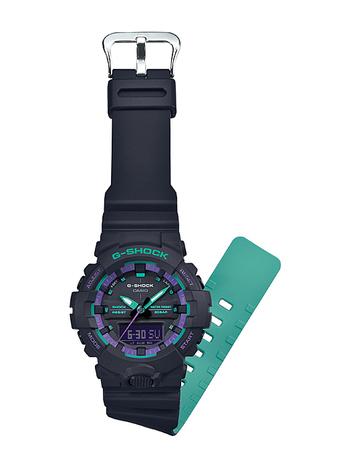 G-ショック G-SHOCK ブラック GA-800系 コンパクトデジタル×アナログ デュアルタイム CASIO カシオ 国内正規品 GA-800-1AJF