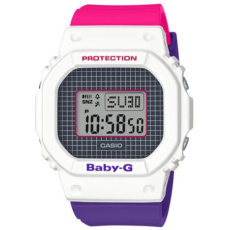 ベビーG Baby-G 25周年スペシャルロゴカラーモデル Throwback 1990s 腕時計 レディース CASIO カシオ 国内正規品 BGD-560THB-7JF