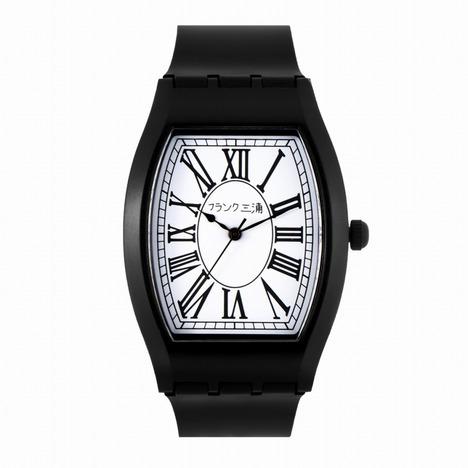 フランク三浦 チープ三浦 ホワイト×ブラック 完全非防水 超軽量 メンズレディース ユニセックス ウォッチ 男女兼用 腕時計 正規品 FCQ-012