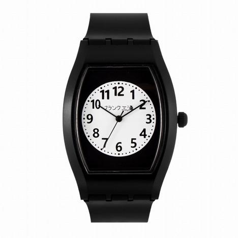フランク三浦 チープ三浦 ホワイト×ブラック 完全非防水 超軽量 メンズレディース ユニセックス ウォッチ 男女兼用 腕時計 正規品 FCQ-024