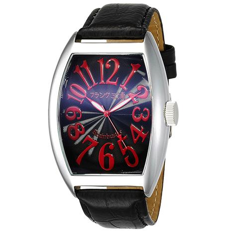 フランク三浦 六号機(改)マグナム ハイパーレッド まさかの復活 美しき革命という異名を持つ伝説のモデル 完全非防水 腕時計 FM06K-RD