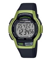 カシオスタンダード  デジタル ランニング ウォッチ メンズ ラップ・スプリットタイム60本メモリー LEDライト 腕時計 カシオ CASIO 正規品 WS-1000H-3AJF