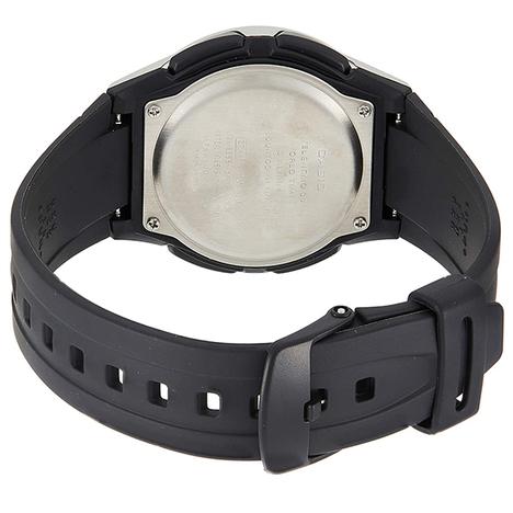カシオスタンダード  アナログ×デジタル ウォッチ シルバー チプカシ ワールドタイム ストップウォッチ アラーム 腕時計 カシオ CASIO 国内正規品 AW-80-7AJF