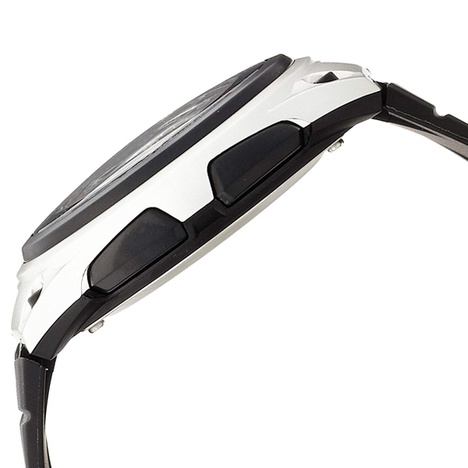カシオスタンダード  アナログ×デジタル ウォッチ ブラック チプカシ ワールドタイム ストップウォッチ アラーム 腕時計 カシオ CASIO 国内正規品 AW-80-1AJF
