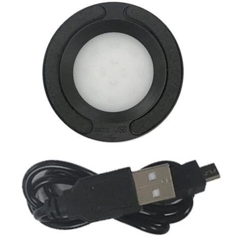 ソーラーウォッチ用 LED充電器 USBコード付き クレファー CREPHA ソーラー腕時計用 急速充電 BSC-4162-BK