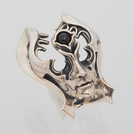 牙狼 GARO 神ノ牙 JINGA 魔導輪アルヴァ リング 魔界騎士神牙着用 シルバー925 JAP工房 ガロ シルバーグロサリー 正規品 基準サイズ 19号 22号 GR18-AL