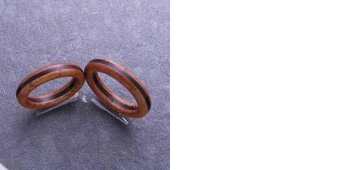 木の指輪 木婚式 5年目 結婚記念日