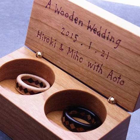 ガーネット婚式の贈り物