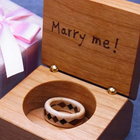 結婚記念日の贈り物
