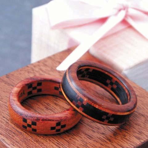 木婚式 英語 指輪