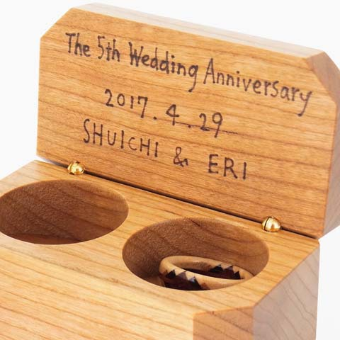 木婚式 記念品