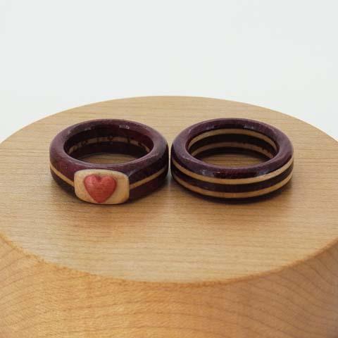 木婚式 指輪