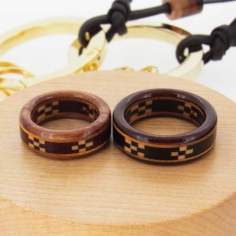 木婚式 木の指輪 もくこんしき 5年目 結婚記念日 プレゼント