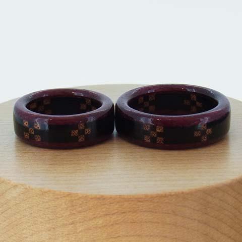 木婚式 黒檀 ケヤキ