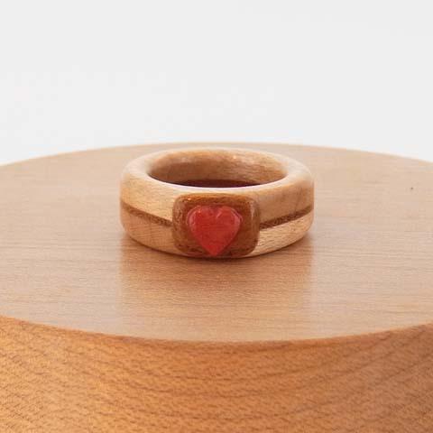 木婚式 ベビーリング