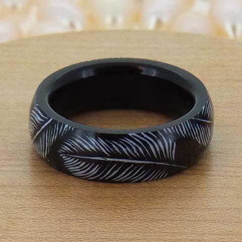 金属アレルギー 真珠 パール 木 指輪