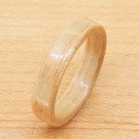 木の指輪 うすい