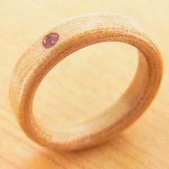 誕生石の指輪