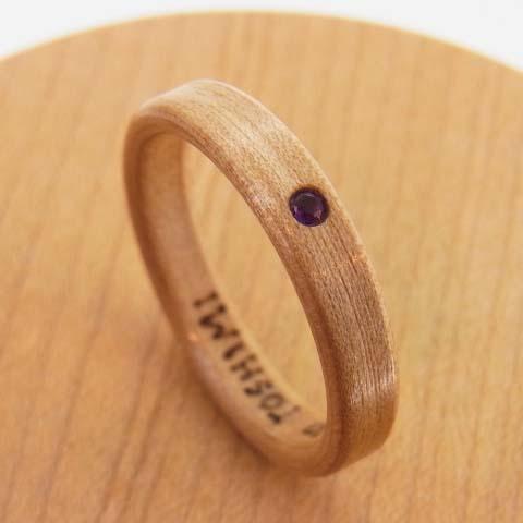 アメジストの指輪