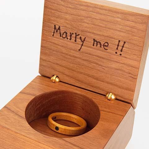 プロポーズ 指輪