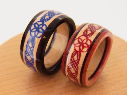 木製指輪 カエデ