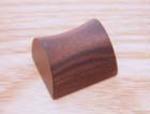 木製指輪 黒たん