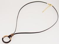 結婚指輪 ネックレスにする 革紐